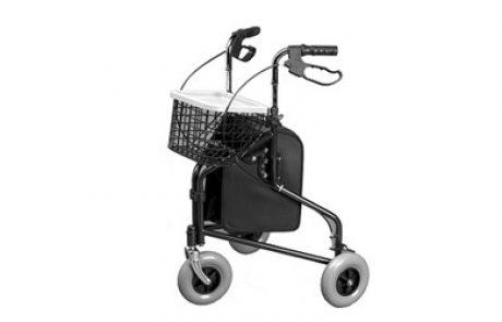 רולטור 3 גלגלים עם סלסלה