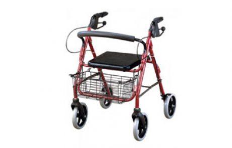 רולטור 4 גלגלים עם סלסלה