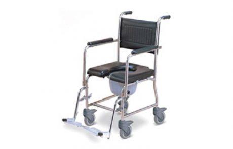 כיסא גלגלים לשירותים ורחצה