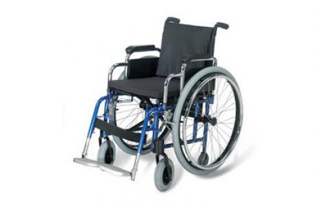 כיסא גלגלים עם גלגלים פריקים